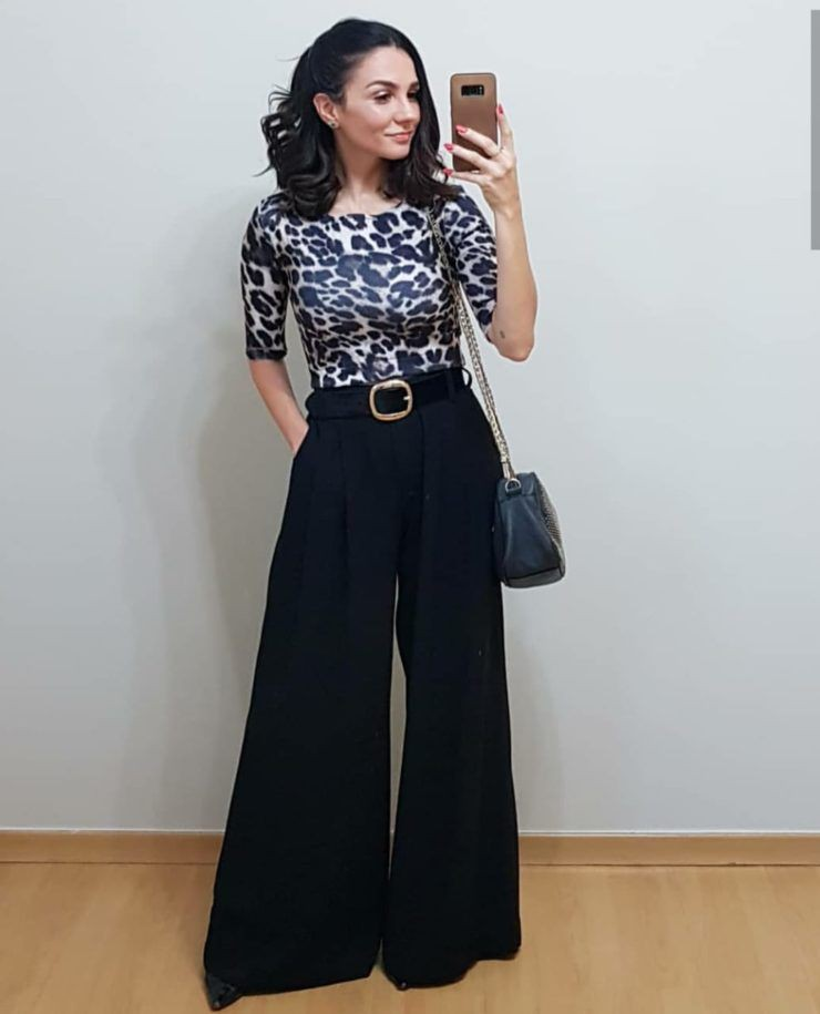 Beautiful Flare Palazzo Pants For Parties