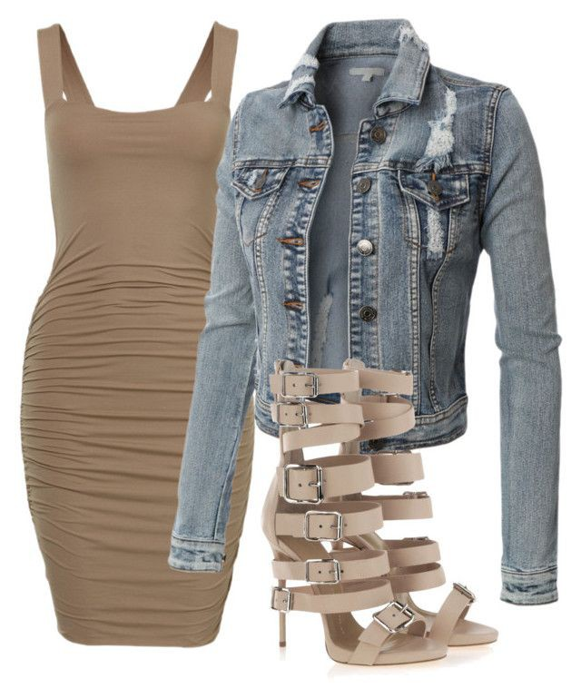 Great photos of sexy polyvore outfits, Jean jacket
