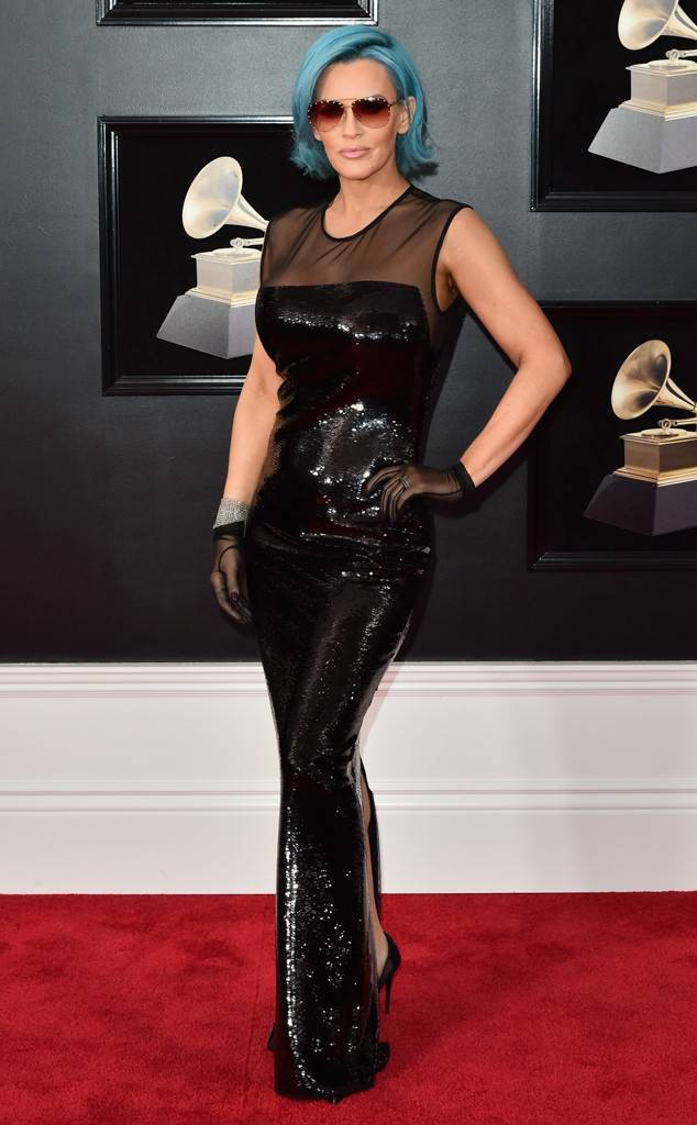 JENNY MCCARTHY at the 2018 Grammys, Red Carpet Looks