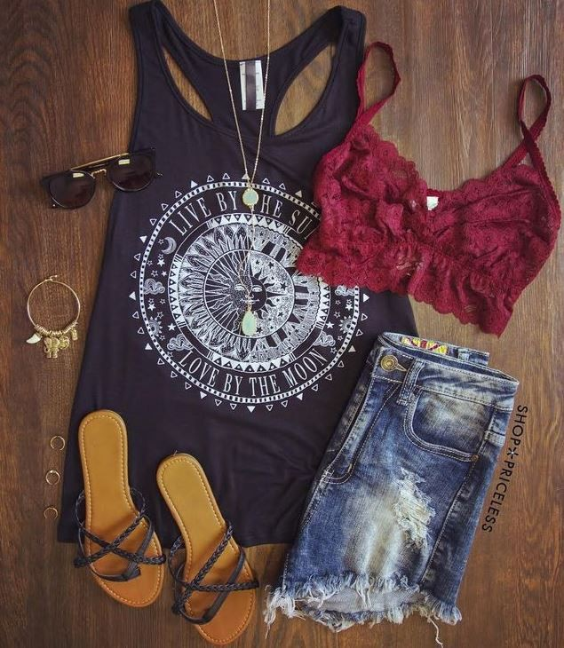 Love By The Moon Top   Summer Outfit Ideas 2020