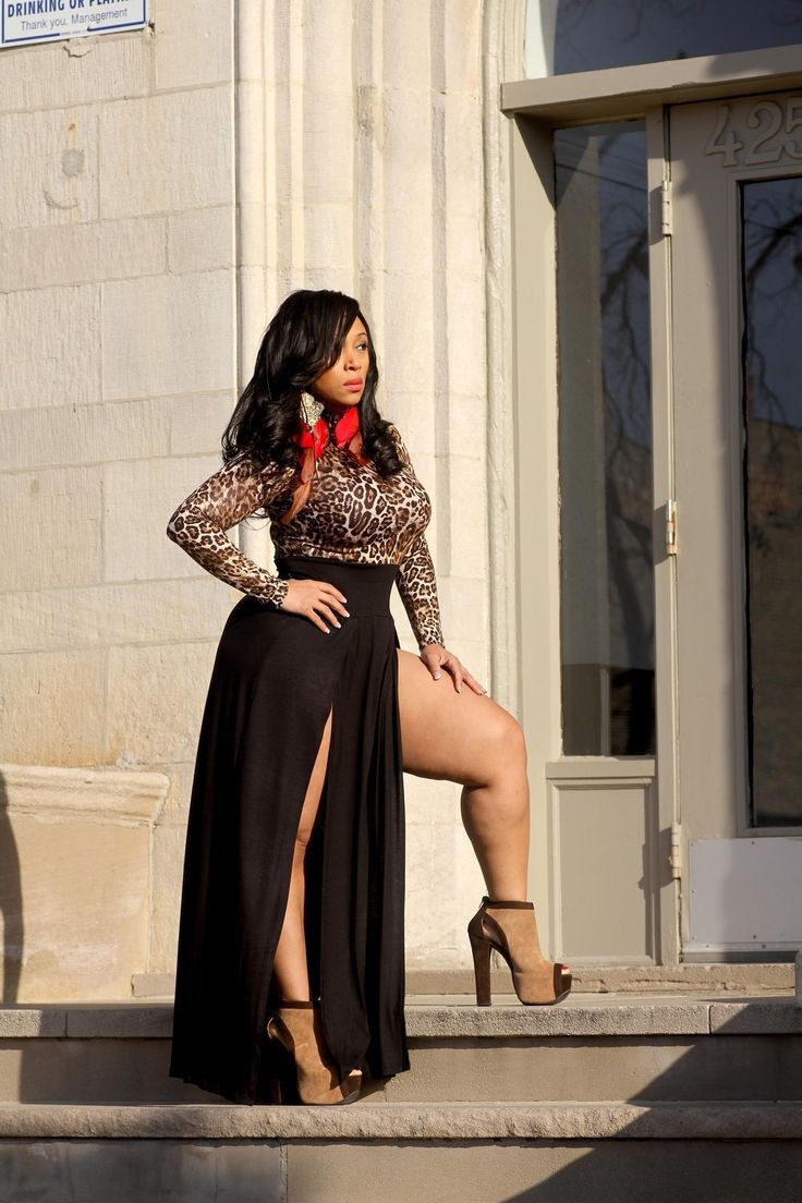 Cute Outfits For Curvy Women's