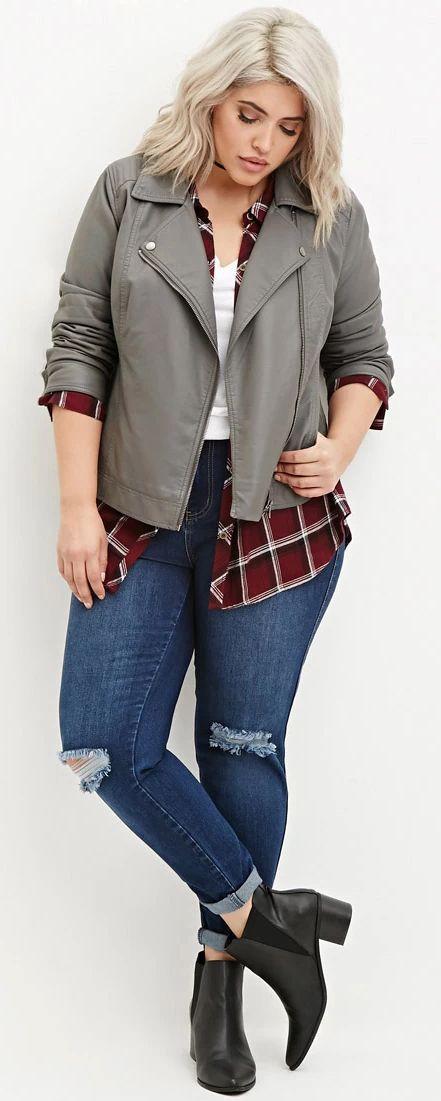 Stylish Outfits For Plus-Size Girls, Plus Size Fashion – …