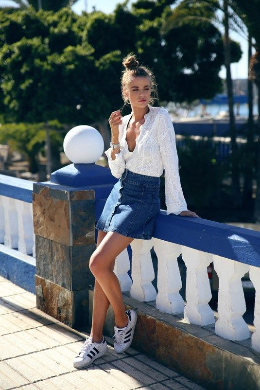 adidas superstar dames outfit