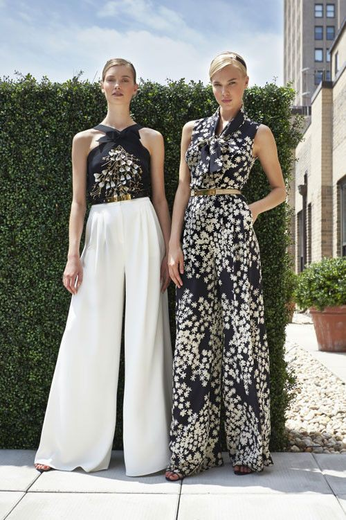Lovely High Waist Palazzo Pants For Night Out Tendencias Primavera-Verano 2013: pantalones XXL