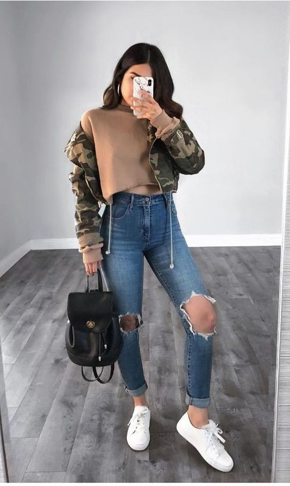 Tumblr Baddie Cute Outfits For School
