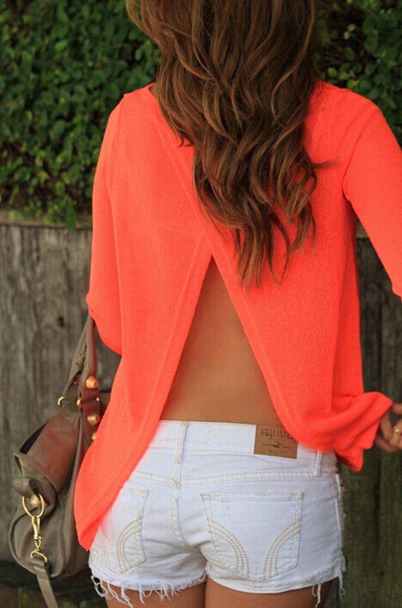 Cute Open back women's tops, Backless dress