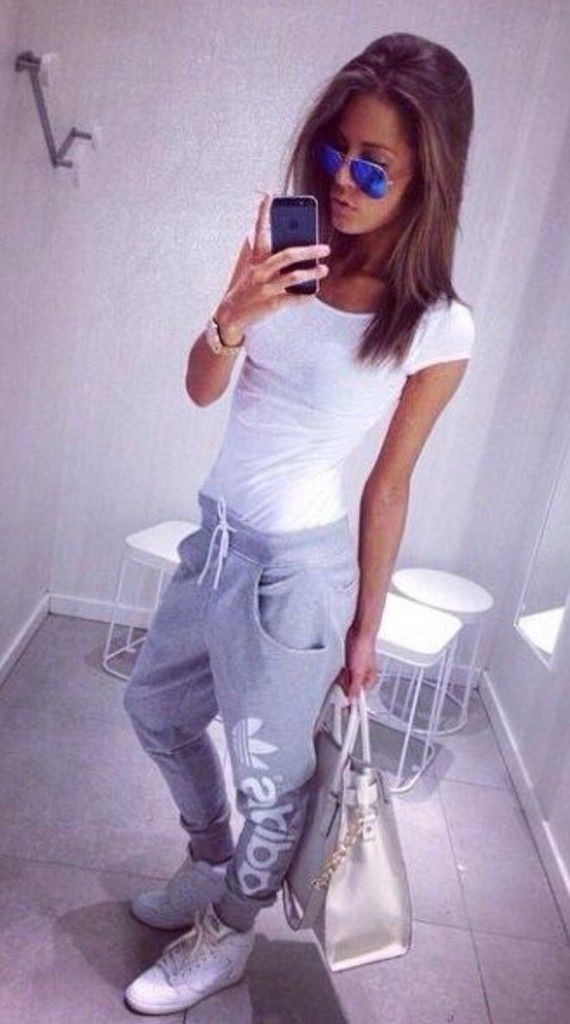 Outfit Ideas With Joggers, Minx sexy traje, Ray-Ban Daddy-o Ii