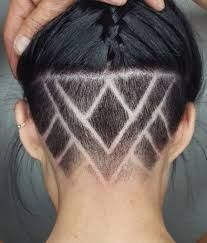 Check out these looks of undercut women designs, Long hair