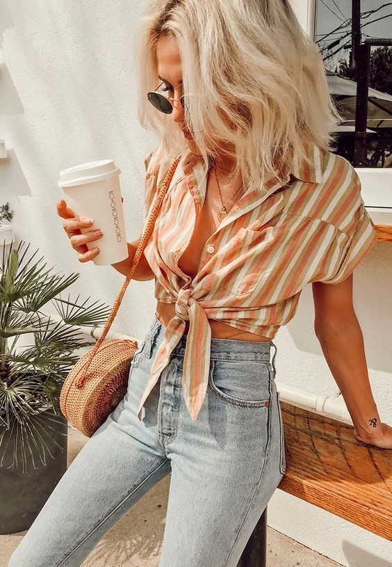 Stylish Outfits With Jeans For Young Girls – College Fashion