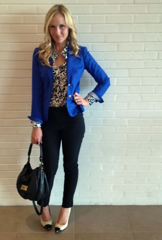 outfits with royal blue blazer  blue blazer outfit women