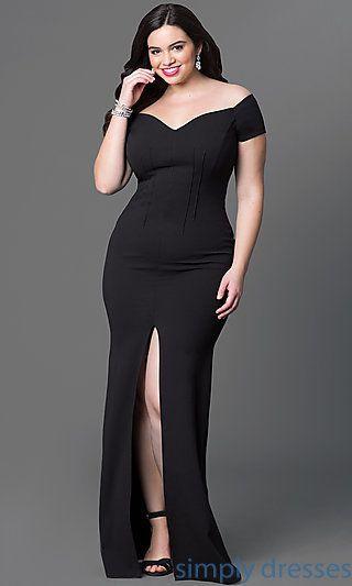 Formal Dresses, Stylish Cocktail Dress For Plus Size Ladies