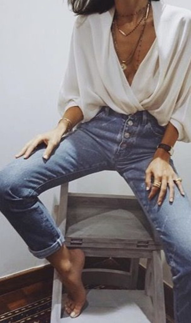 Trendy Outfits With Mom Jeans For Teenager Girls – Casual Fashion