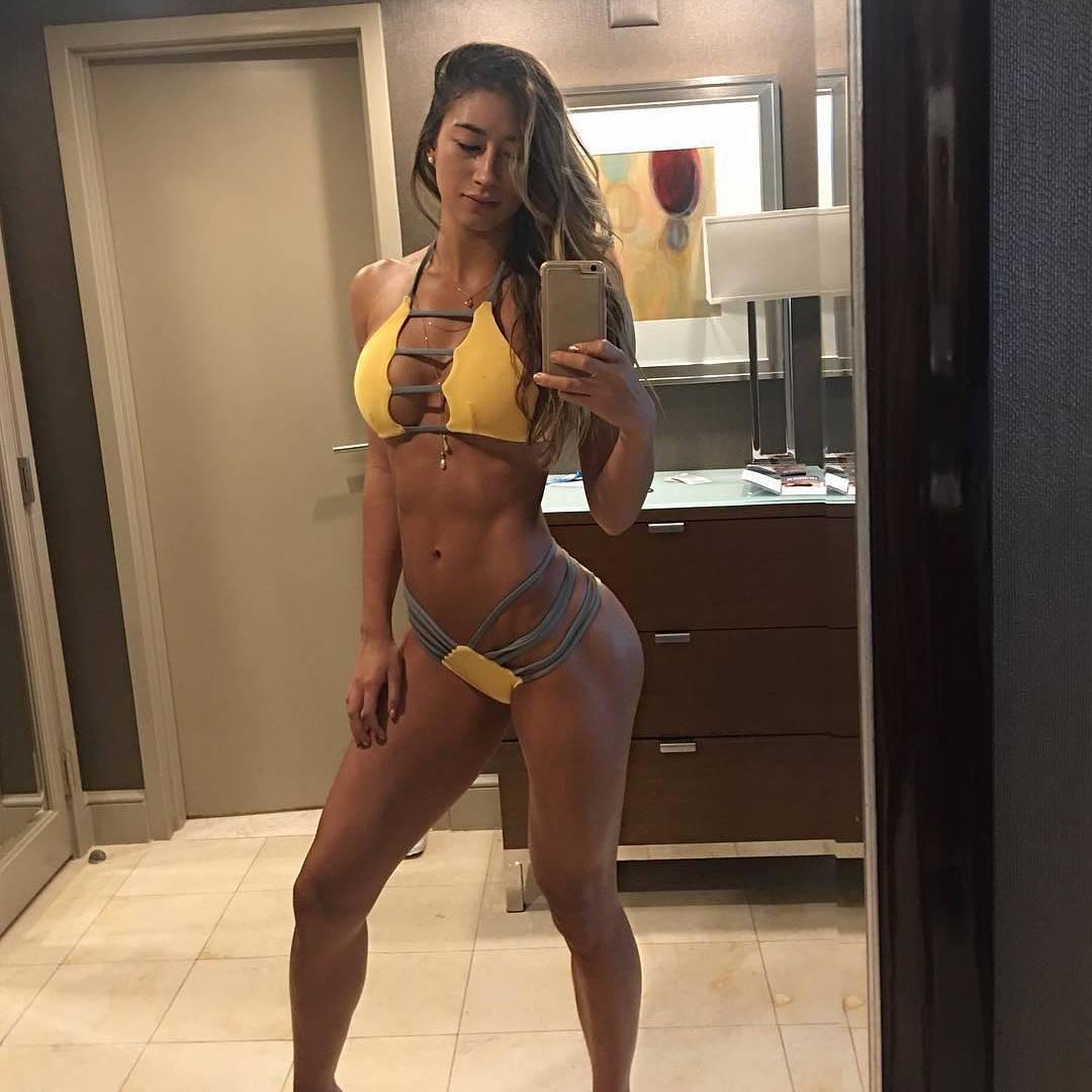 yellow dress for girls with bikini, woman thighs, legs pic