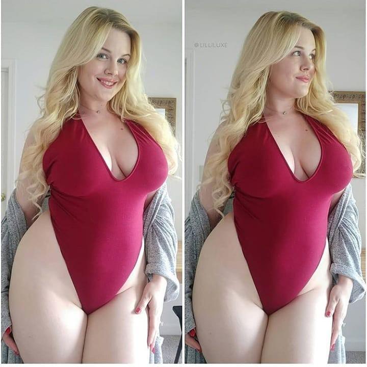 Hot Chubby Instagram Models Photos