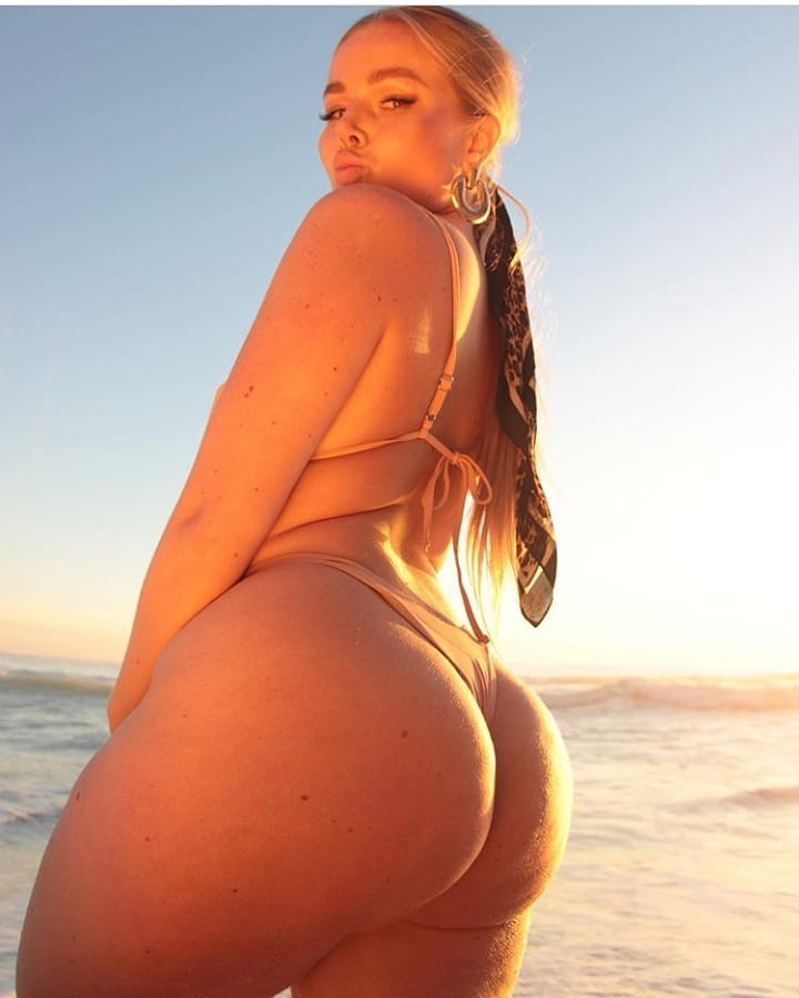 Hottest Plus-Size Instagram Girls Pic