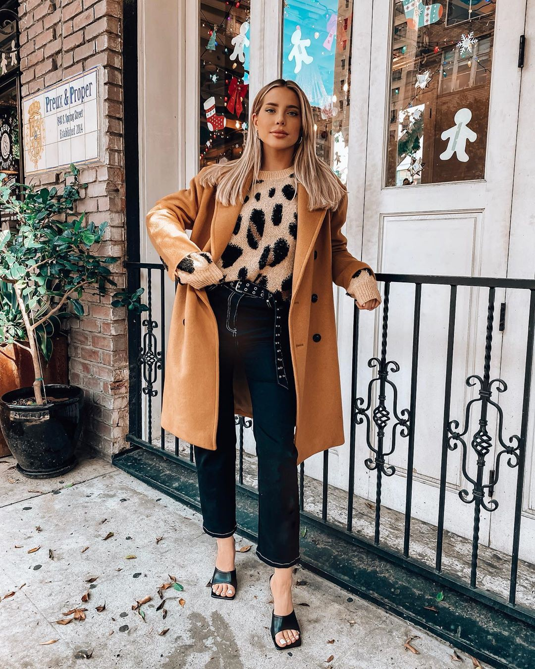 brown colour outfit with trench coat, jacket, blazer