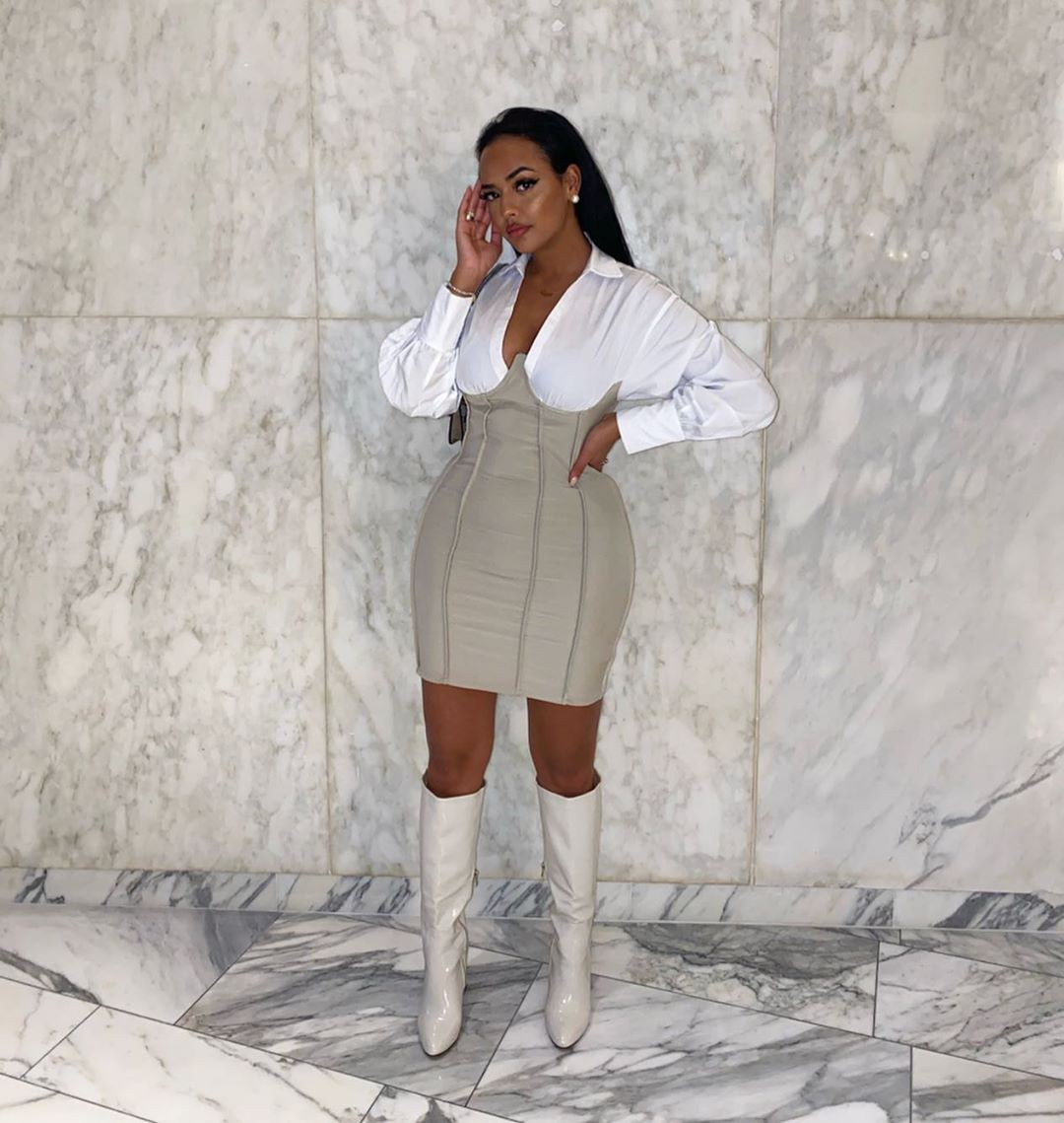 white style outfit with dress, hot legs picture, wardrobe ideas