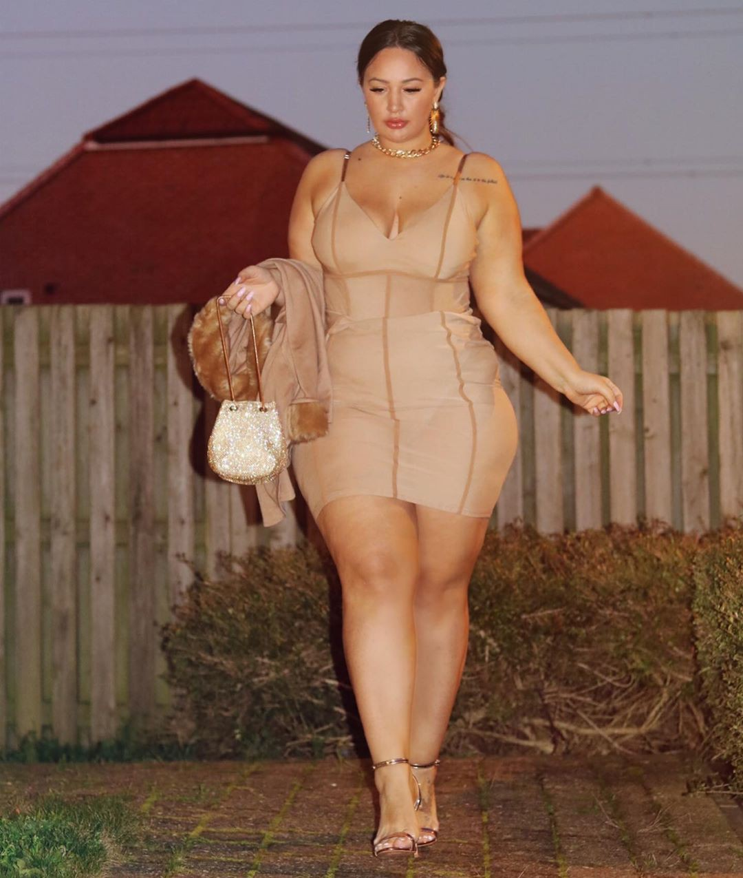 brown dresses ideas with dress, woman thighs, hot legs