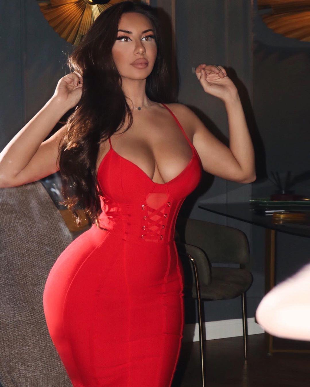 Anastazia strapless dress, cocktail dress matching style