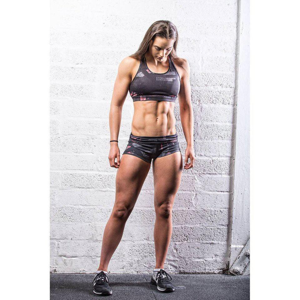 Lovely 18 y/o Aimee Cringle Fit Body, Gym Babes