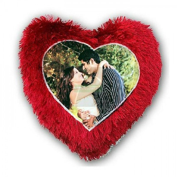 Heart Photo Pillow