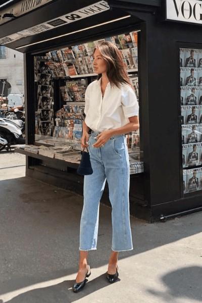 Nemo Smith trousers, denim, jeans matching dress