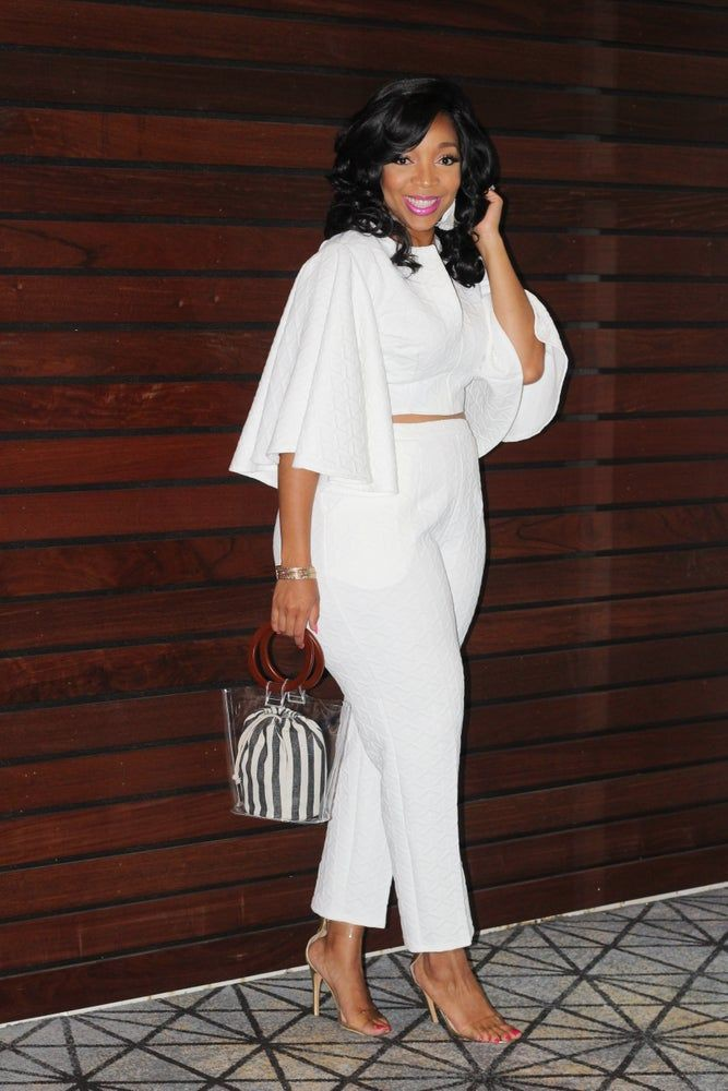 White colour outfit, you must try with formal wear, pantsuit, blazer