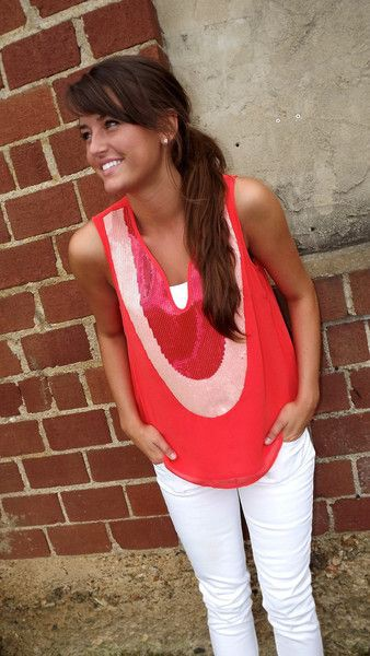 White and pink lookbook dress with sleeveless shirt