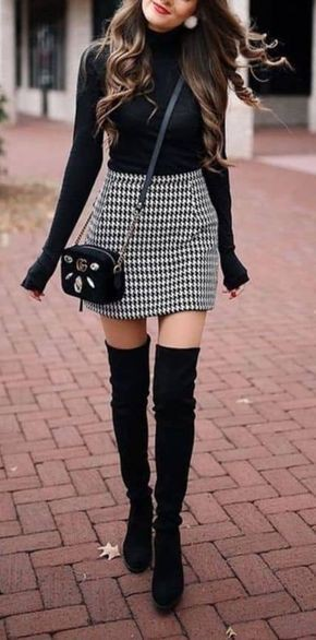 Winter outfits for short women