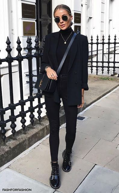 Black colour outfit, you must try with little black dress