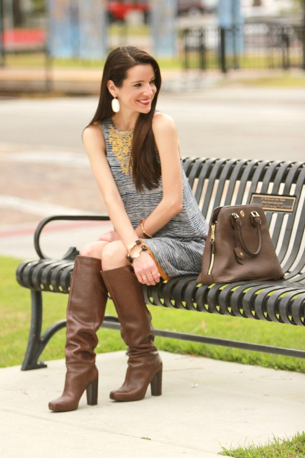Colour outfit, you must try stephanie ziajka boots high heeled shoe, street fashion