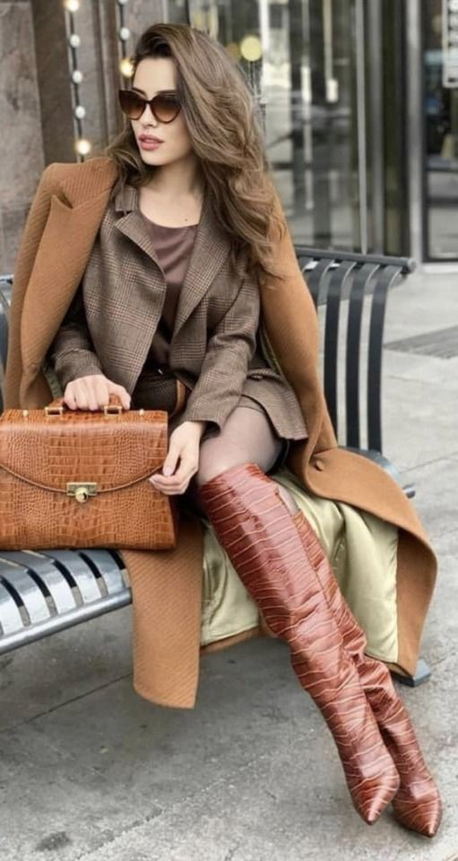 Brown outfit Stylevore with