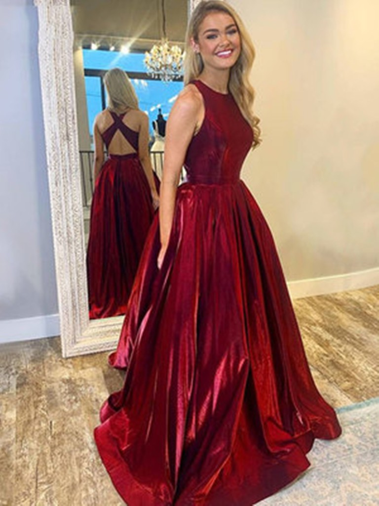 Red style outfit with bridal party dress, wedding dress, evening gown