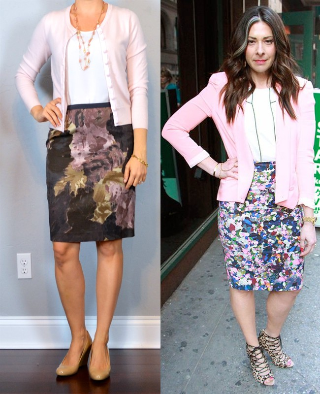 Outfit pencil skirt pink, street fashion, pencil skirt