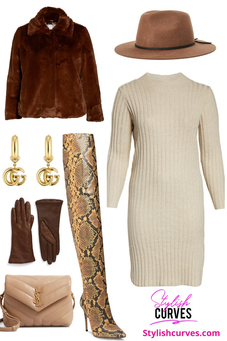 Beige and brown colour outfit ideas 2020 with leggings, uniform, coat
