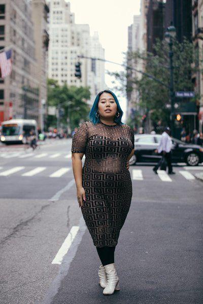 Street style plus size women