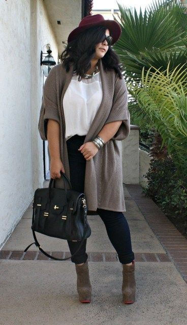 Plus size outfits for fall