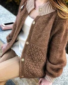 Brown and beige sweater, costumes designs, outerwear