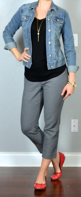 Dress pants with jean jacket womens