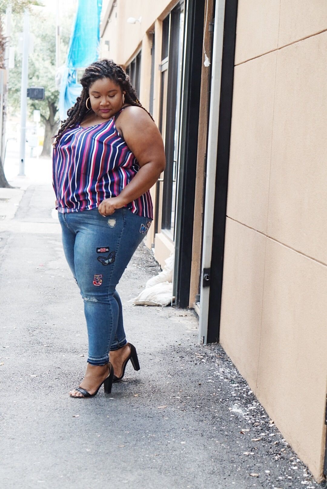 Women with big arms plus size clothing, plus size model