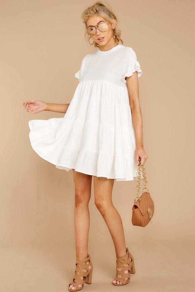 White colour dress with cocktail dress, wedding dress