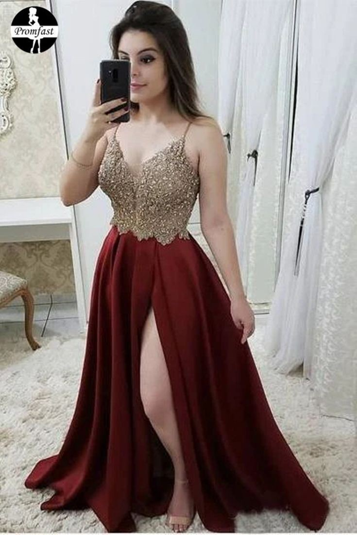 Colour outfit, you must try maroon prom dresses bridal party dress, bridesmaid dress