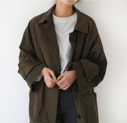 Beige and khaki colour outfit, you must try with trench coat, overcoat, jacket