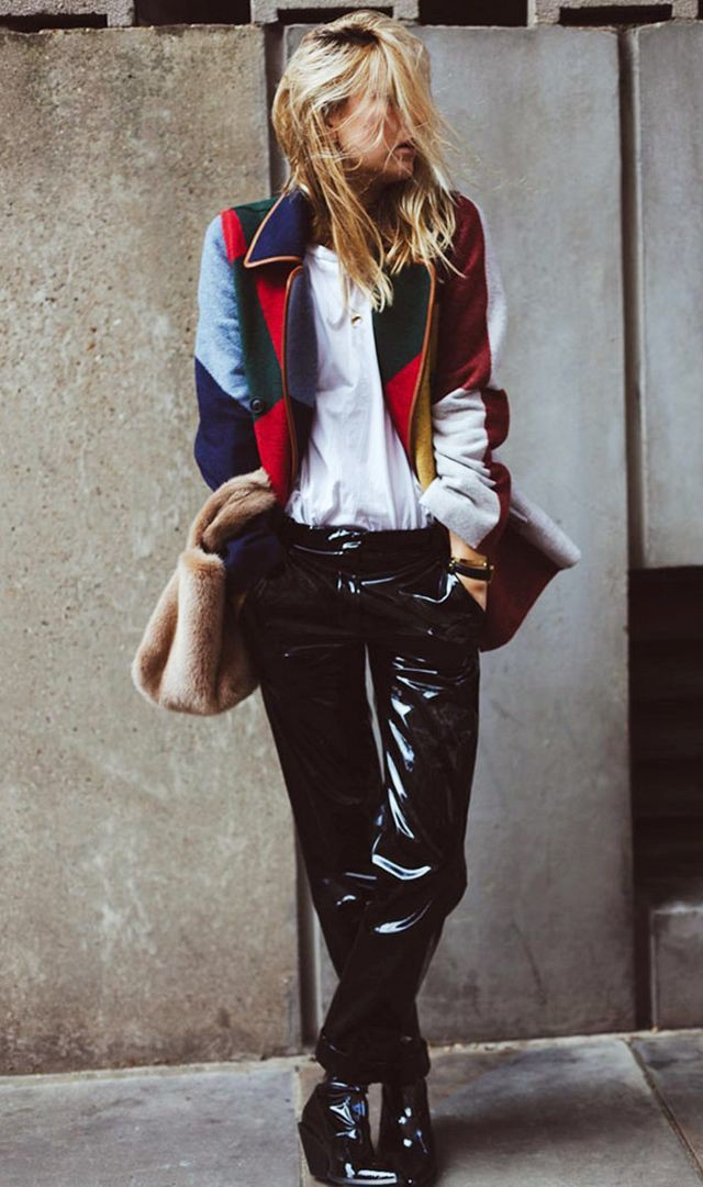 Parka camille charriere street style