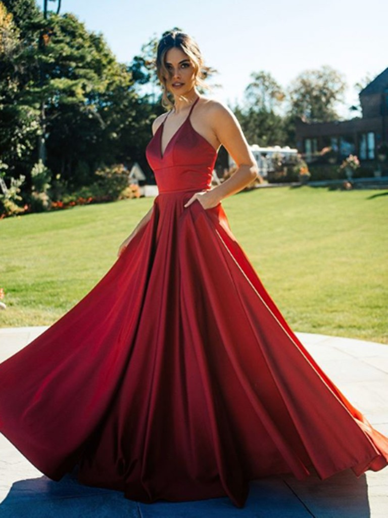 Red dresses ideas with bridal party dress, cocktail dress, wedding dress