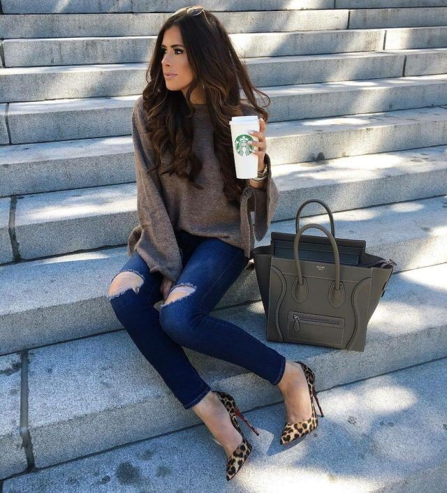 Colour outfit, you must try instagram fall outfits, street fashion, casual wear