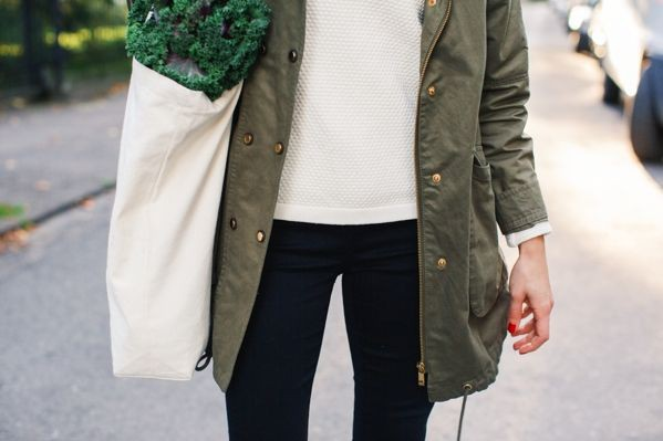 Khaki and green outfit Pinterest with trench coat, blazer, jacket