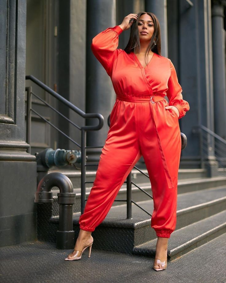 Orange and red dresses ideas with leather