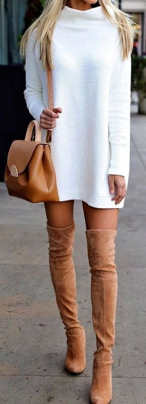 Knee high boots outfit thigh high boots, knee high boot