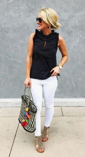 white clothing ideas with sportswear, t-shirt, jeans